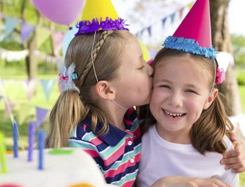 Kinderfeestjes vieren?